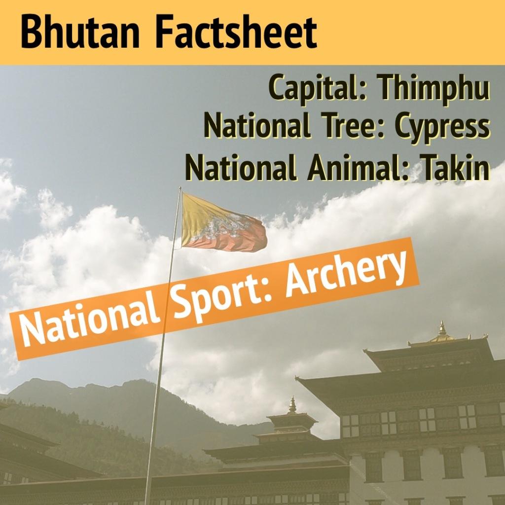 Bhutan, archery
